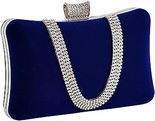 Women Elegant Evening Clutch Bags - Sparkling Handbag with Detachable Shoulder Strap for Wedding Parties Cocktail