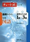 チャート式シリーズ基礎からの中学国語漢字とことば1年~3年 (新学習指導要領準拠 チャート式基礎からの中学シリーズ)
