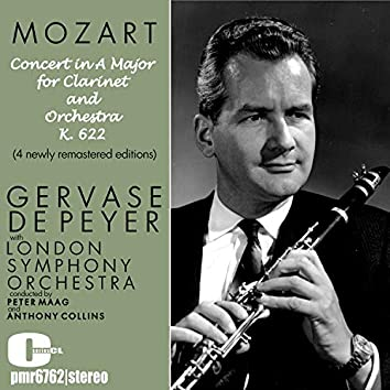 Mozart; Concert in a Major for Clarinet and Orchestra, K. 622