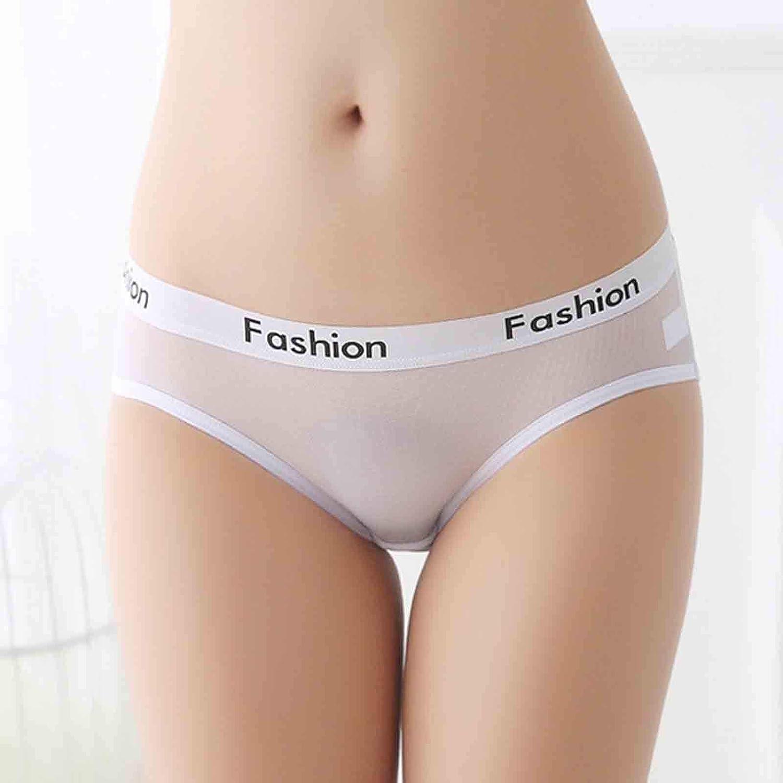Gahrchian Women Seamless Thongs Panties Underpant Cotton Breathable Stretch T-Back Solid Color Briefs Underwear