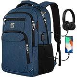 Laptop Ruckscke mit USB-Ladeanschluss Herren Damen fr Arbeit Schule Uni Schulrucksack fr Jungen...