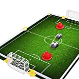 Clickedia Air Power Soccer Disc Hovering Air Football Game with Soccer Goals Training