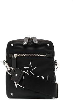 Valentino Moda De Lujo Hombre TY2B0662MFG0NO Negro Fibras Sintéticas Bolso Messenger | Primavera-verano 20
