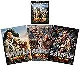 【Amazon.co.jp限定】ジュマンジ/ネクスト・レベル 4K ULTRA HD & ブルーレイセット(オリジナルA4ミニポスター 3枚組セット付) [Blu-ray]