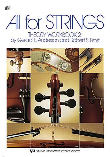 85VN - All For Strings Theory Workbook 2: Violin