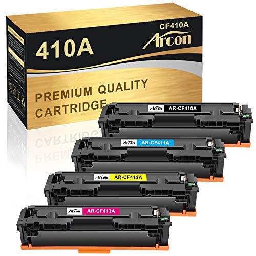 Arcon Compatible Toner Cartridge Replacement for HP CF410A CF410X HP 410A...