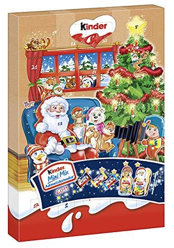 Ferrero Kinder Mini Mix Adventskalender 152g