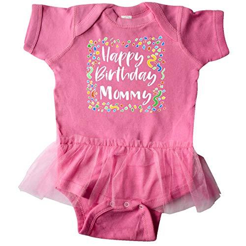 inktastic Happy Birthday Mommy Infant Tutu Bodysuit 6 Months Raspberry 3b264