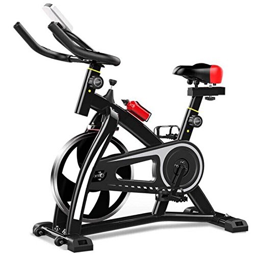 T1000U Bicicletta da spinning Spin bike Cyclette (nero)