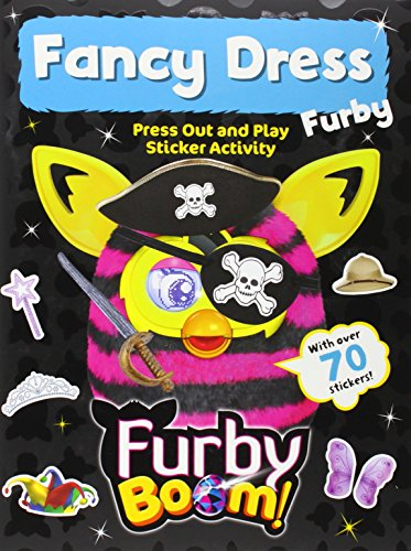 Furby Boom Fancy Dress Press Out and Play