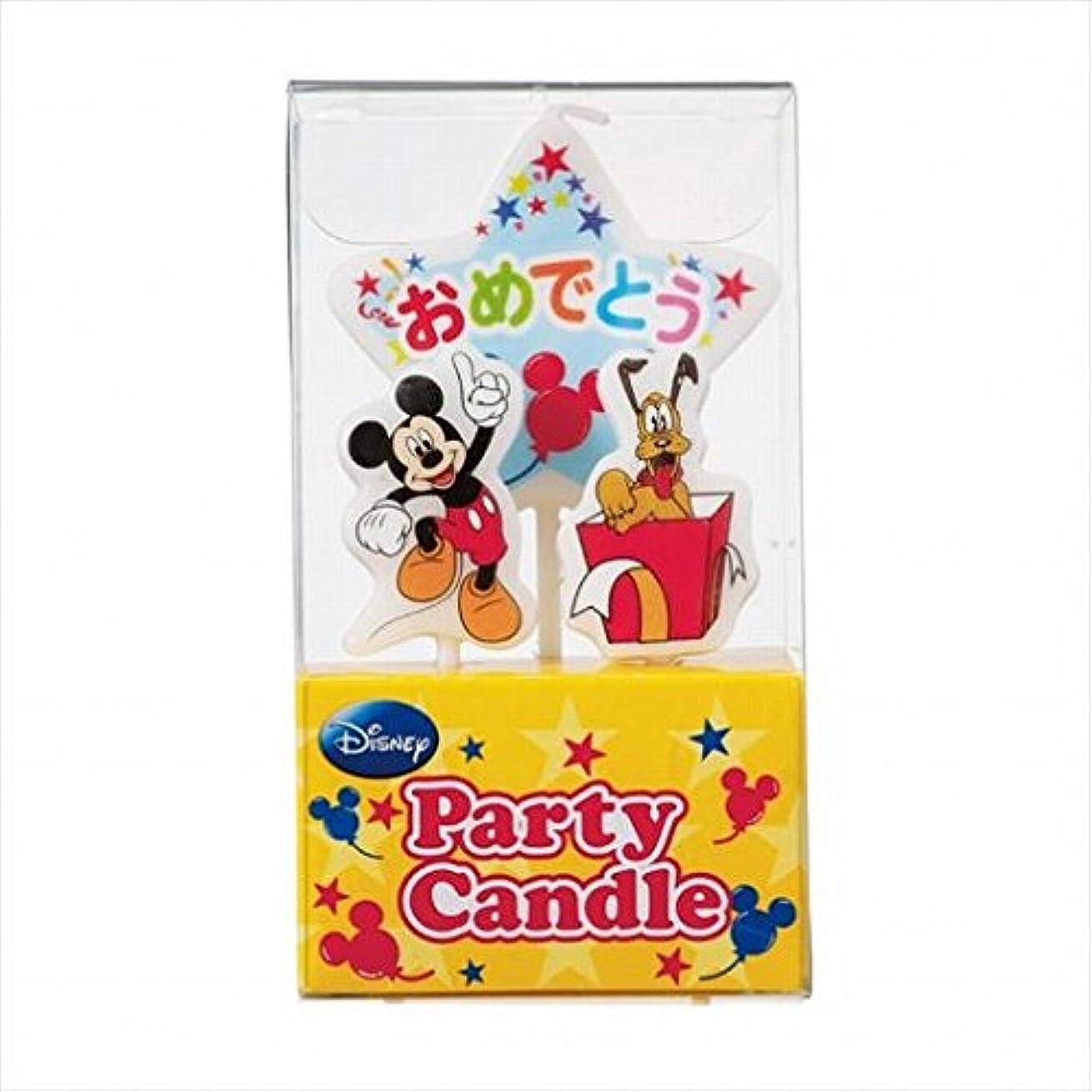 定常石灰岩パトワディズニー( Disney ) ディズニーパーティーキャンドル【ケーキ用キャンドル】 「 ミッキー 」