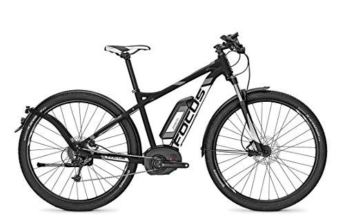 E-Bike Focus ELECTRIC-SPORT-ATB-2 JARIFA BOSCH PLUS 9G 11AH 36V señores en negro, Rahmenhöhen:51, colores:blackm 36v/11ah