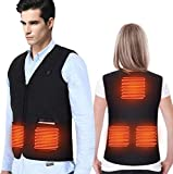 Heated Vest, Heated Clothing for Body Warmer in Cold Winter Outdoor Activities Hunting Camping...