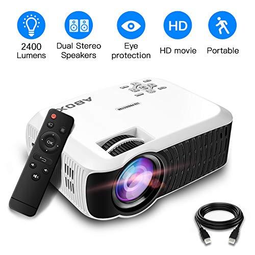 Proiettore, ABOX Mini Videoproiettore Portatile(1080P...
