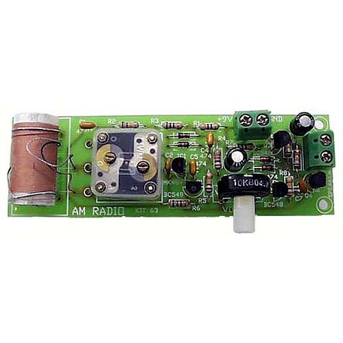 One Chip AM Radio Kit - Assembly Required