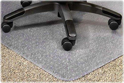 Eliza Tinsley Beschermmat voor bureaustoel, met vloerbedekking, transparant