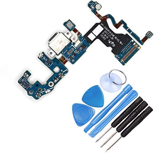 DE TECH DOCTOR Vervangende USB Type C Laadpoort Flex Kabel Microfoon voor Samsung S9 G960F - Compleet met Gereedschap - Professionele Reparatie Kit