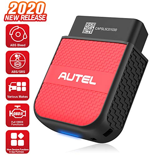 Autel MaxiAP AP200C Wireless OBDII Scan Tool with ABS, SRS Diagnostics, ABS Bleed, Airbag Reset, OBD2 Scanner for iOS & Android, Car Service Tool with Oil Reset, EPB, SAS, DPF, BMS, Throttle Optional