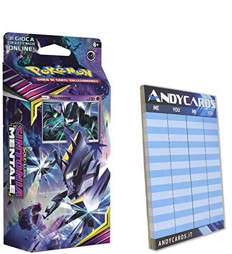 Andycards Baraja Necrozma Sintonia Mentale – Baraja de 60 cartas Pokémon en...