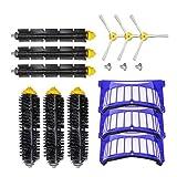 Kit de accesorios de cepillo compatible con 600 Series aspiradoras robóticas barredoras accesorios de repuesto para herramientas de limpieza domésticas y piezas de repuesto