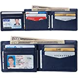Alpine Swiss RFID Protected Mens Spencer Flip ID Leather Bifold Wallet...