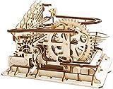 Robotime コースター 3D立体パズル ギア レーザー 木製 クラフト プレゼント おもちゃ オモチャ 知育玩具 男の子 女の子 大人 入園祝い 新年 ギフト 誕生日 クリスマス プレゼント 贈り物(水車)