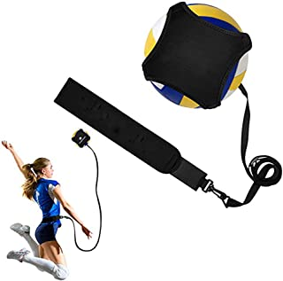 N/X Volleyball Training Equipment Aid, Adjustable Waist Belt Perfect Volleyball Trainer Serving Training Equipment Aid Single Practice, for Arm Swing Serve Trainer Beginners