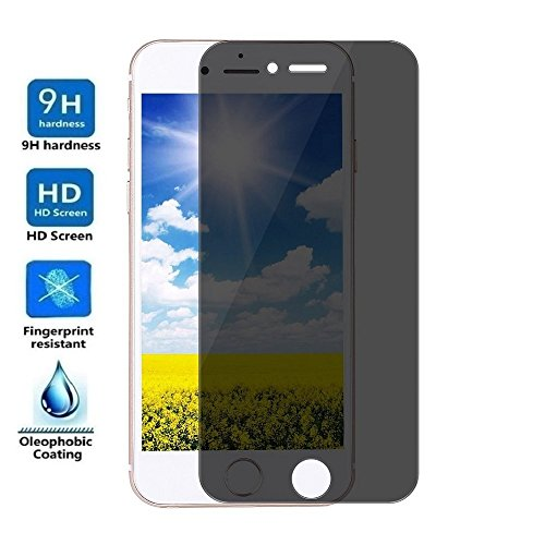 ELECTRÓNICA REY Protector de Pantalla Anti ESPÍA para iPhone 6 / 6S, Cristal Vidrio Templado Premium