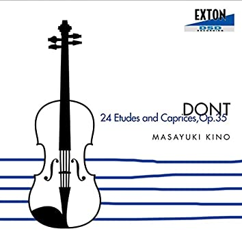 24 ETUDES AND CAPRICES, OP.35