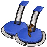 2 Pack Inflatable Critter Animal Saving Escape Ramp for Swimming Pool Floating Ramp, Pool Accessories Saving Frogs Toads Animal Mice Rats Squirrels Possums Turtle (Blue)
