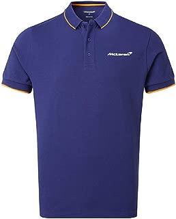 McLaren Essentials Blue Logo Polo