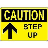 Caution Step Up ティンサイン ポスター ン サイン プレート ブリキ看板 ホーム バーために