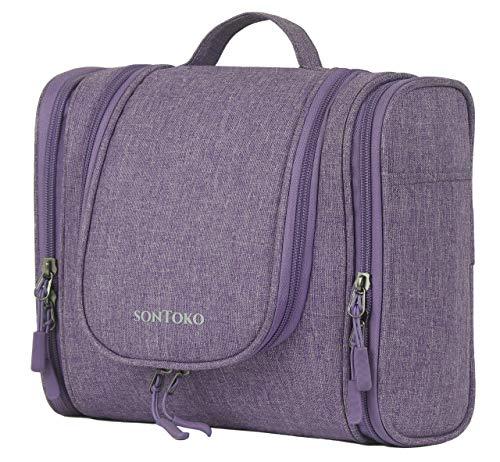 SONTOKO, Trousse de Toilette, Violett (Violet) - SON-T01-Violett