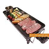 Fondue Hot Pot Grill elettrico, domestica commerciale Nero Moderno Multi-Function barbecue...