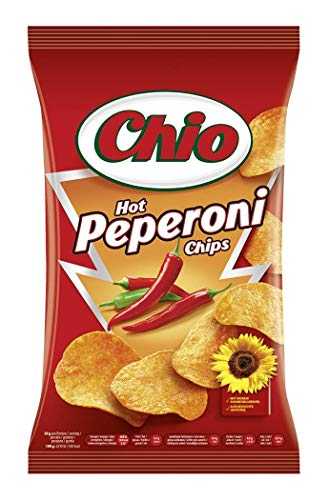 Chio Chips Hot Peperoni, 10er Pack (10 x 175 g)