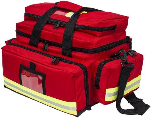 Elite Bags, Bolsa para Emergencias de gran capacidad, Roja