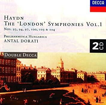 "Haydn: The ""London"" Symphonies, Vol.1"