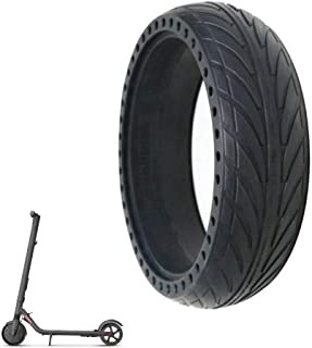 Electric Scooter Tires, Honeycomb Tire Anti-Puncture, Explosion-Proof New 8-Inch Front/rear Wheel Replacement FOR Ninebot ...