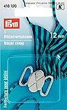 Bikini- und Gürtelverschluss MET 12 mm silberfarbig matt