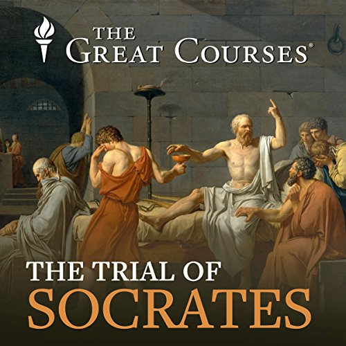 The Trial of Socrates audiobook cover art
