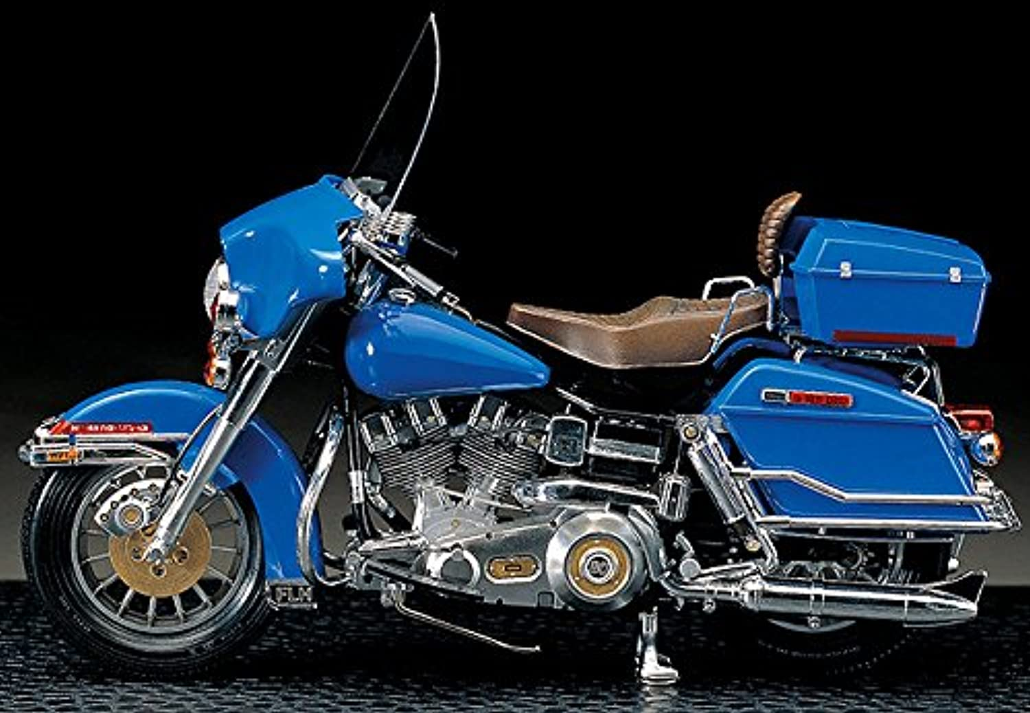 Academy 1 10 Harley Davidson Classic Model Kits Motorcycle Modeling Of Famous Motorcycle In The 7,80'S