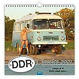 Trötsch Erotikkalender DDR-Classic Wandkalender 2021 Spiralbindung 30x30 cm