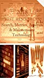 2018 Best Resources for Search, Metrics, Analysis & Maintenance Technology