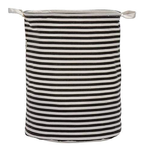 SSLA Lavadora Plegable Grande Canasta de Almacenamiento Barril Toy Toy Ropa Almacenamiento Bucket Lavandería Organizador Titular Bolsa de Almacenamiento de la casa (Color : Telve)