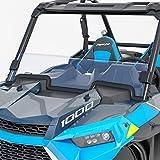 AURELIO TECH Hard Coated Polycarbonate Clear UTV Half Windshield for Polaris Razor, 2019-2021 RZR XP 1000, 2019-2021 RZR XP 4 1000, 2019-2021 RZR XP Turbo, 2019-2021 RZR XP 4 Turbo
