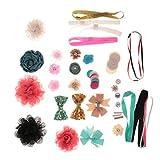 sharprepublic DIY Making Kits Land Wiese Geburtstag Baby Dusche Stirnband Stationen Handwerk - Multi #4