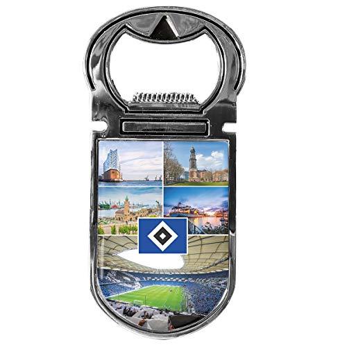 Hamburger SV Flaschenöffner Magnet Hamburg HSV