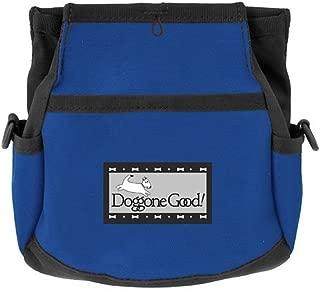 Rapid Rewards Deluxe Dog Training Bag with Belt by Doggone Good! (Blue)