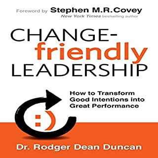 Change-Friendly Leadership cover art