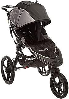 baby jogger(ベビージョガー) 3輪ベビーカー summit X3 (サミット エックススリー) ブラック/グレーBK 5歳頃まで使える & ジョギングが出来る & 片手で素早くたためる [ハンドブレーキ付き] 2053962